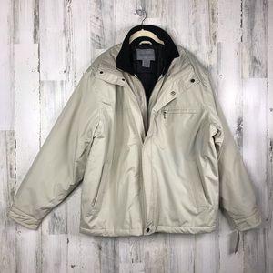 NWT Men's Londontowne moto tech hipster coat